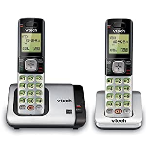 a0b73f6c660 Amazon.com   VTech CS6719-2 2-Handset Expandable Cordless Phone with ...