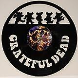 GREATFUL DEAD LASER CUT VINYL LP RECORD WALL CLOCK FREE SHIPPING