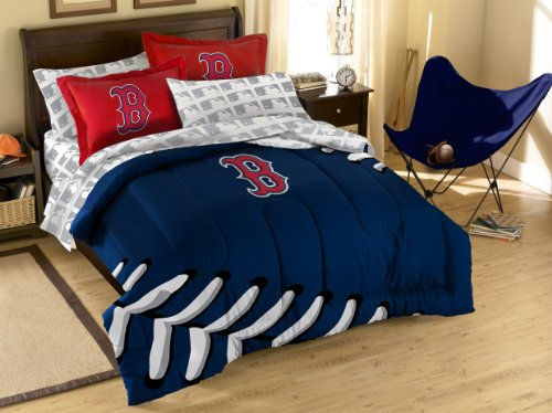 MLB Boston Red Sox Full Bedding Set