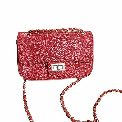 women cross bags multifunction Axiba phone shoulder Single mobile bag oblique Red q1Ax6wBd