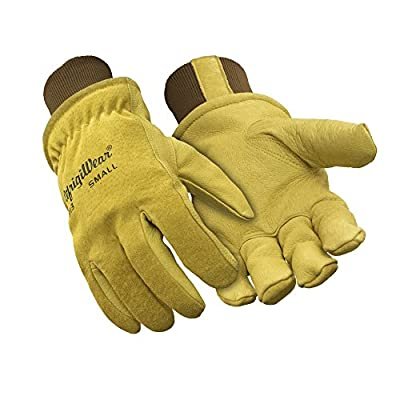 RefrigiWear Durable Insulated Pigskin Leather Gloves