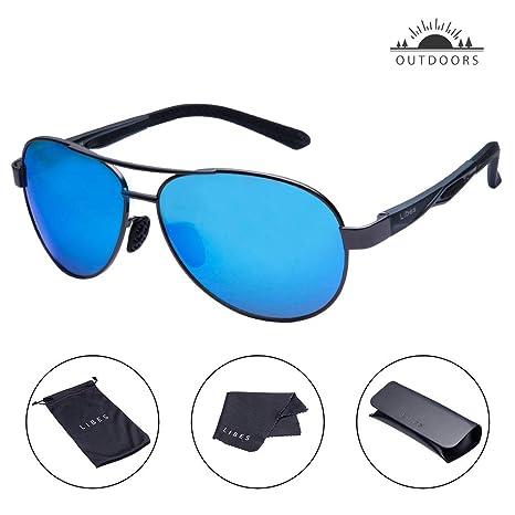 TAIQX Gafas de sol polarizadas – TAC Aviator polarizadas para hombres y mujeres actividades al aire