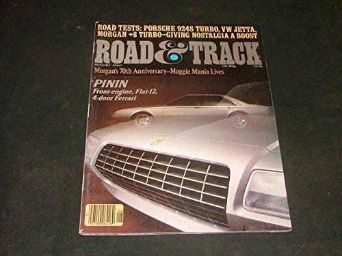 Ferrari 1980 - Road Track August 1980 Pinin Ferrari, Porsche, Jetta