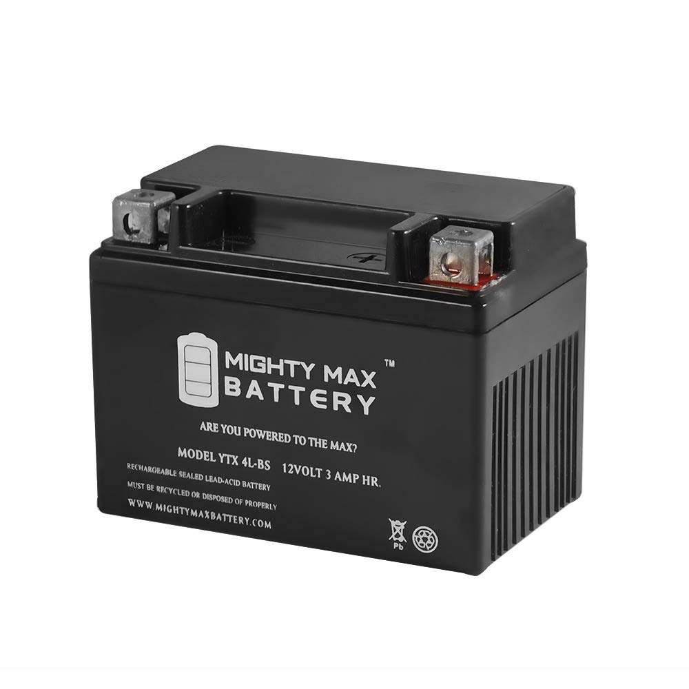 Mighty Max Battery YTX4L-BS Replacement for Coolster 110CC GK-6110A Brand Product