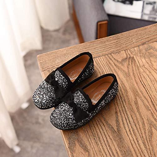 Zarupeng Scarpine Farfalla Del Scarpe Da Bambino Sandali Bean Eleganti Neonato Scarpe Sandalo Nero Ragazze Principessa Shoes Singola wxqt1W