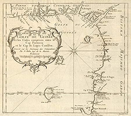 golfe de guinée carte Amazon.com: 'Carte du Golfe de Guinée'. Gulf of Guinea. Nigeria