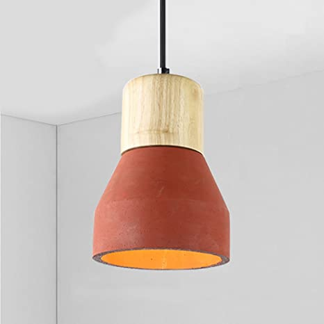 Nclon Modern Creative Pendant lamp Shade, Restaurant Cement ...