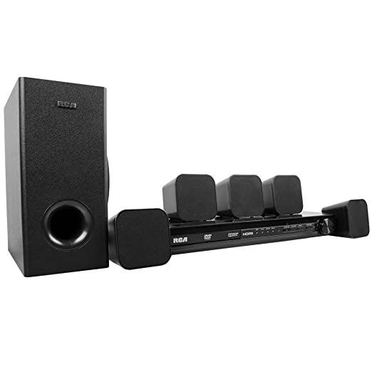amazon com rca dvd home theater system with hdmi 1080p rtd3276h rh amazon com RCA DVD Home Theater System RCA Home Theater System Rt2781h