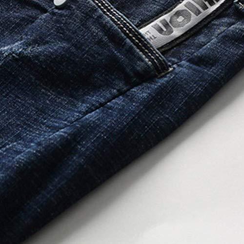 Uomini Dei Jeans Traspiranti Ufige Qk Degli Comodi Blau lannister Popolari Ragazzo Estate Pantaloni All'aperto Di Sportivi PxwFzq