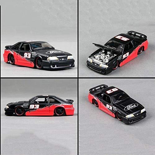 GreenSun 1:64 Alloy Diecast Car Model 1993 SVT Cobra Vehicles Toys Gift Kids Toys Collection Gift (Cobra 1993 Model)