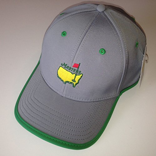 MASTERS Golf Tournament Grey & Green PERFORMANCE HAT 2016 Masters by Inkster Sports