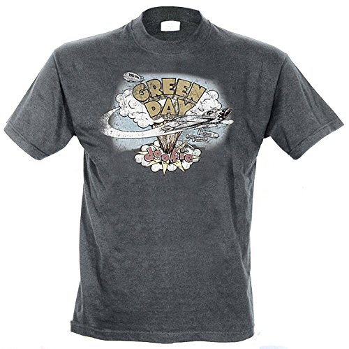 94fad386b98 Green Day Day Dookie Vintage - Camiseta para hombre, color gris (charcoal),  size 2XL: Amazon.es: Ropa y accesorios
