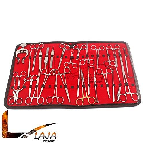 LAJA Imports 36 Pcs Professional Plastic Surgi Kit Surgi Instruments by LAJA IMPORTS (Image #1)