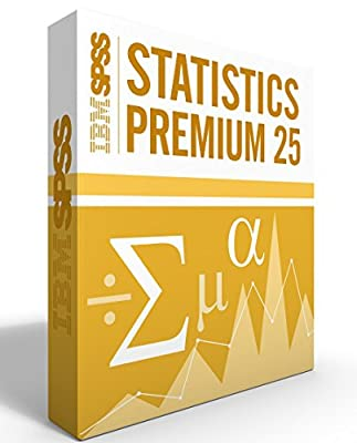 IBM SPSS Statistics Grad Pack Premium V25.0 12 Month License for 2 Computers Windows or Mac