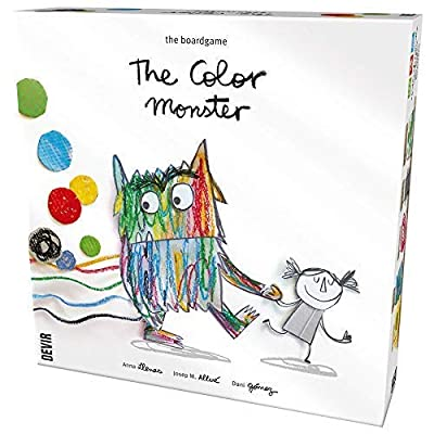 The Color Monster Childrens Game: Toys & Games