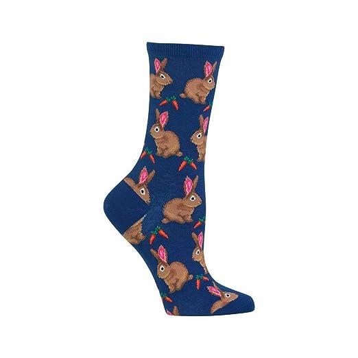 2e1169b1ccd Amazon.com  Hot Sox Women s Originals Classics Crew Socks  Clothing