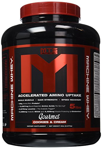MTS Machine Whey Protein 5lbs Cookies Cream