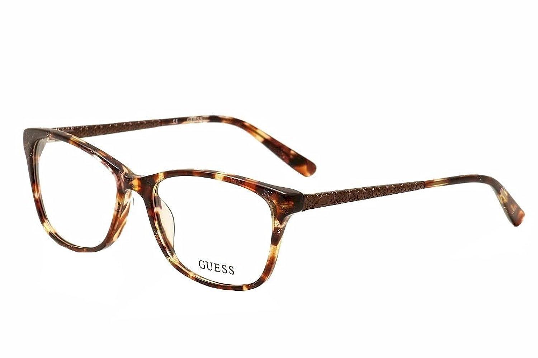 Guess Women\'s Eyeglasses GU2500 GU/2500 047 Brown Tortoise Full Rim ...
