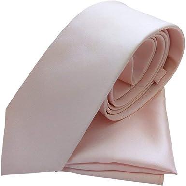 Tie Accessory Corbata - para hombre Rosa Nude Blush Adulto: Amazon ...