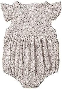 Baby Girls Floral Romper Jumpsuit