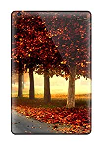 TtVnTzg7868QKeCH Silent Autumn Road Fashion Tpu Mini/mini 2 Case Cover For Ipad
