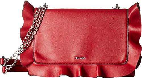 Nine West Women's Honesti Shoulder Bag Ruby Red One Size