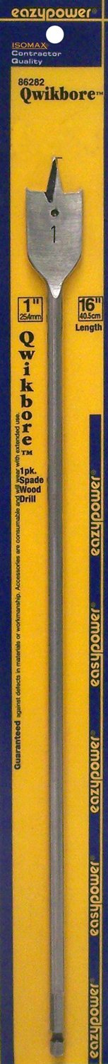 1 Pack Eazypower 86282 1 Qwikbore 16 Spade Drill