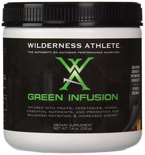 Wilderness Athlete Green Infusion, 7.4 Ounce