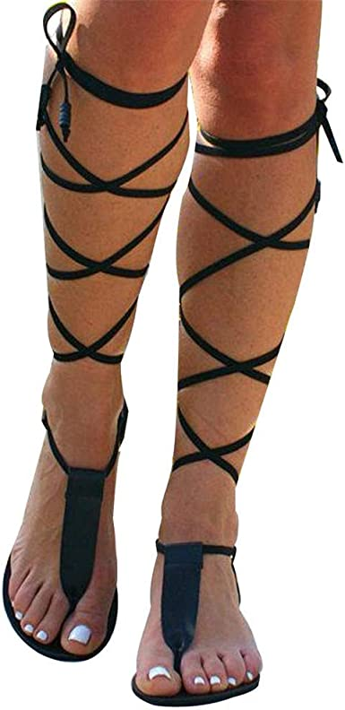 Sandals for Women Lace Up, Gladiator