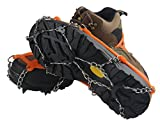 Non-slip Shoes Cover Chain Ice Claws 8/11/19 Teeth Outdoor...