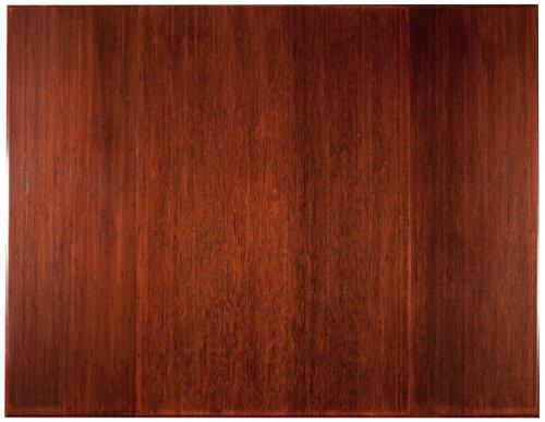 Dark Mountain Cherry Anji (Bamboo Dark Cherry Tri-Fold Plush Chairmat, 47