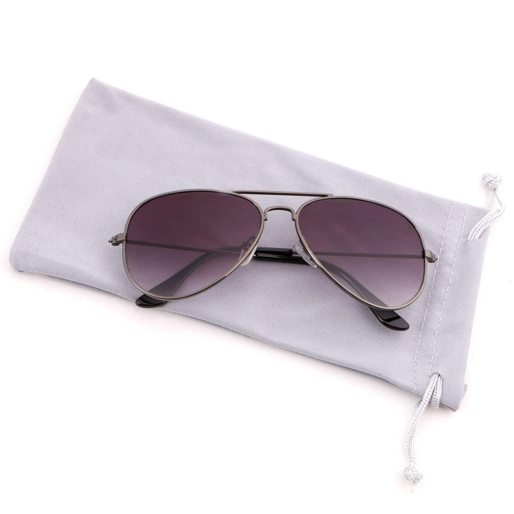 Creamily Kids Aviator Sunglasses UV Protection Glasses Mirrored Lens Eyewear Age 2-9