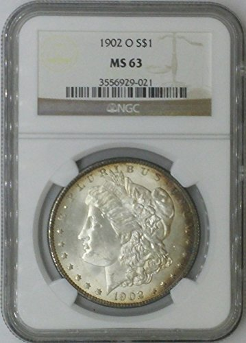 1902 O Morgan $1 MS63 NGC Silver Dollar Old US Coin 90% Silver