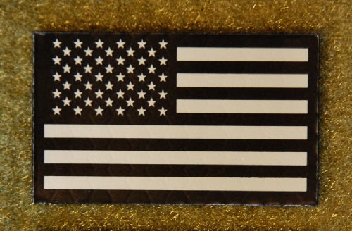 2x1 Inch Mini Infrared Ir Us Flag Patch Us Army Special Forces Green Beret CAG