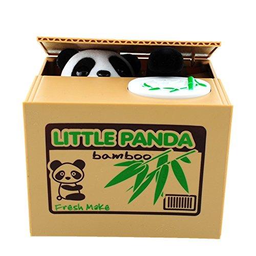 BigFamily Stealing Coin Piggy Bank Cute Panda Money Box For Any Child by BigFamily