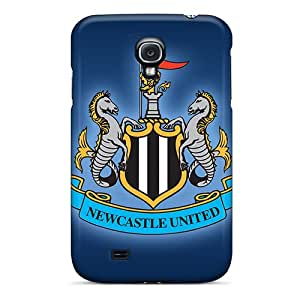 Anti-Scratch Hard Cell-phone Case For Samsung Galaxy S4 (ZHA4136uBys) Support Personal Customs Realistic Newcastle United Series
