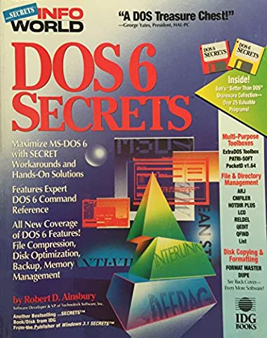DOS 6 Secrets (Infoworld/Book and 2 Disks) - Dos Microsoft Windows