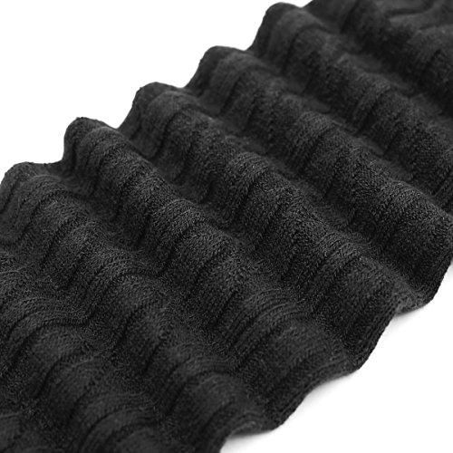 4113000c1da Ordenado Women s Thigh High Socks Valentine s Winter Cable Knit Lace Over  Knee Socks