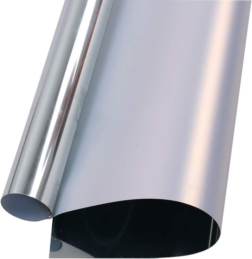 HOHOFILM - Lámina metálica adhesiva de vinilo para transferencia de calor, para planchar sobre papel, efecto espejo, DYI: Amazon.es: Juguetes y juegos