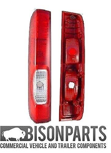 Rear Tail Light Lamp Lens LH/NS (4 Notch Version) BISON PARTS