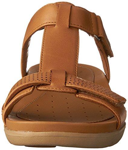 B Haywood 10 Clarks Light Women's Tan Un Leather US x4Px01qfw
