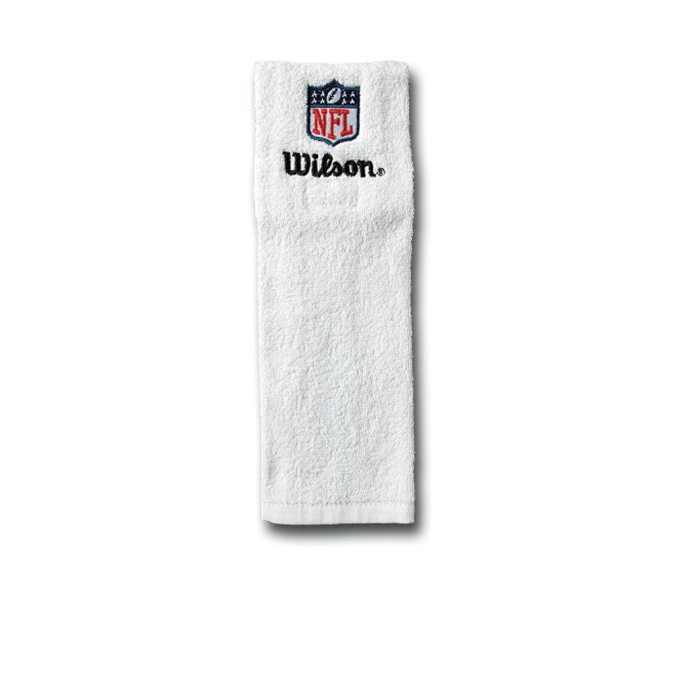 Wilson - Towel Football Americain Wilson Blanc