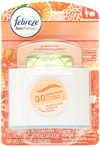 Febreze Set & Refresh Air Freshener Grapefruit Fizz
