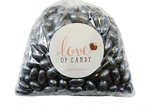 Love of Candy Bulk Candy - Silver Chocolate Almonds - 1lb -