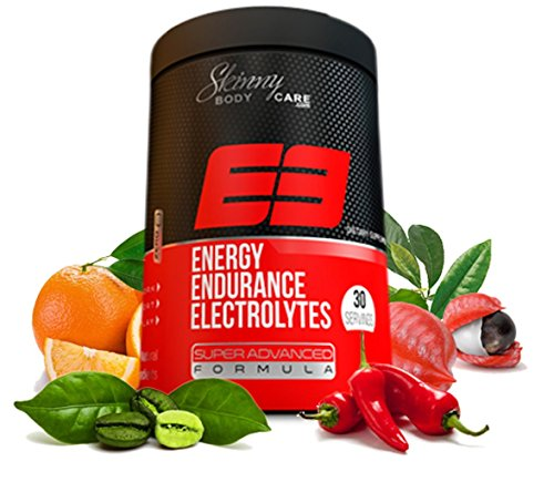 E3 Energy Endurance Electrolytes Advanced Pre-workout Energy Drink, Sport Drink - 30 Servings