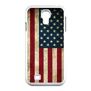 GGMMXO American Retro Flag Shell Phone Case For Samsung Galaxy S4 i9500 [Pattern-1]