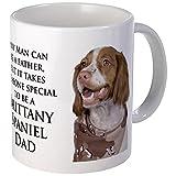 CafePress - Brittany Dad Mug - Unique Coffee Mug, Coffee Cup