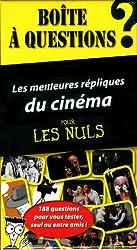 Boîte à questions - Les meilleures répliques du cinéma pour les Nuls