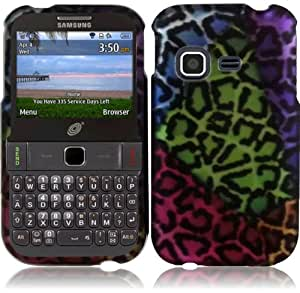 For Samsung S390G Hard Design Cover Case Sensational Leopard Accessory