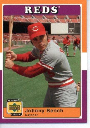 2001 UD Decade 70's Baseball Card #87 Johnny Bench Cincinnati Reds